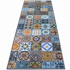 Teppich Laeufer Flur : teppichl ufer bonita patchwork muster im vintage look viele gr en moderner teppich l ufer ~ Frokenaadalensverden.com Haus und Dekorationen