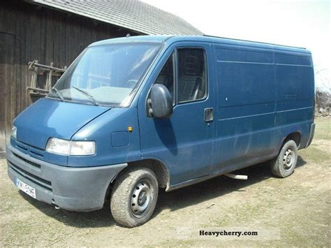 peugeot van boxer peugeot boxer 1996 other vans trucks up to 7 photo and specs