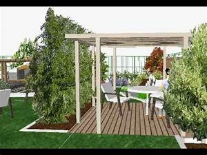 etude de l39amenagement d39un jardin moderne youtube With photo de jardin moderne