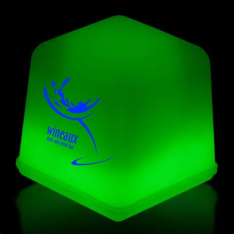 light up cubes green glow light up cubes packed in tray of 24 pieces