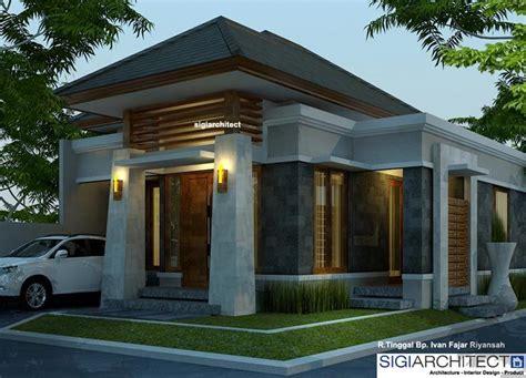 desain rumah type   arsitektur rumah bali modern