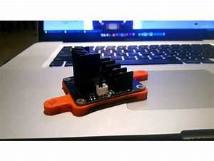 Anet A8 Mosfet Mounting Plate By Jamespero