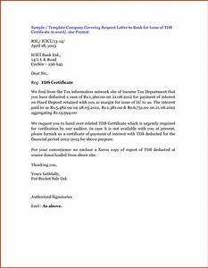 request letter format articleezinedirectory With letter for tax deduction certificate