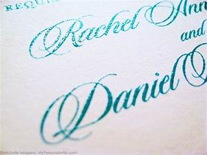 dear donna what are the different printing methods for With wedding invitations with raised printing