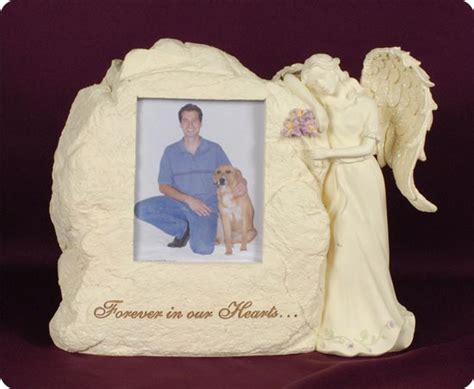 stone picture frame  angel urn memorial urns