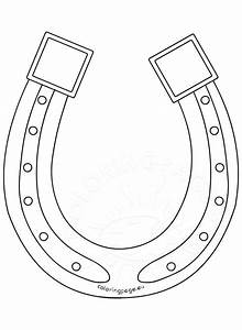 89+ [ Coloring Pages Of Horseshoes ] - Clip Art Picture Of ...
