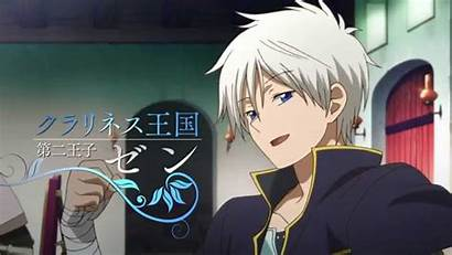 Akagami Zen Anime Shirayuki Shirayukihime Hime Wisteria