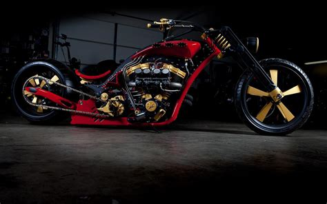 Car, Motorcycle, Chopper, Wheel, Bike