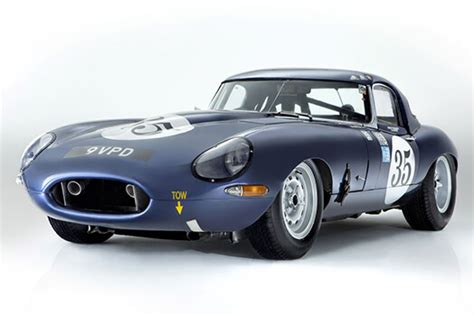 First Ever Racing Jaguar E-type Heads To Auction