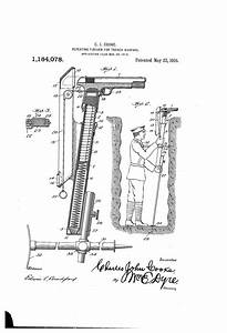 Obscure Patent  Repeating Firearm For Trench Warfare