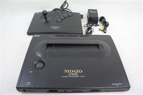 neogeo console neo geo aes console system ref 094354 working tested japan
