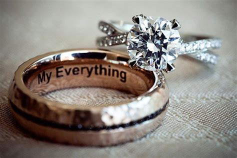 16 inspiring and creative engagement and wedding ring