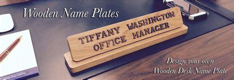 desk name plate designs wood desk name plates best home design 2018