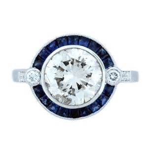 saphire engagement ring engagement ring eye recent favorite estate engagement rings boca raton
