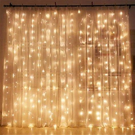 led curtain lights twinkle 300 led window curtain string light for