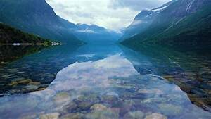 Beautiful, Nature, Norway, Natural, Landscape, Lovatnet, Lake, Stock, Footage, Norway, Natural, Beautiful