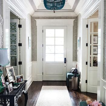 foyer tray ceiling design decor  pictures