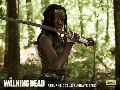 Walking Dead Season Michonne Wallpapers Twd Cool