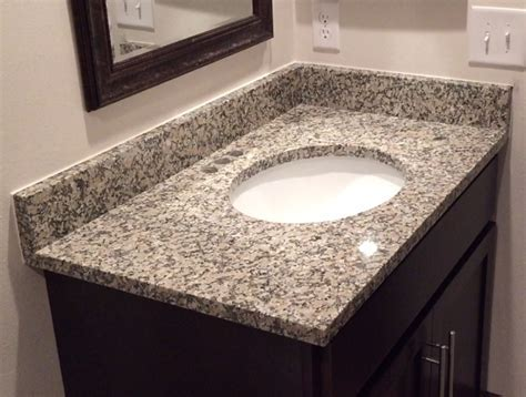 Crema Julia Granite Countertops Installation Kitchen