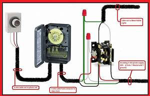 Photocell Lighting Contactor Wiring Diagram