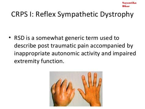 Reflex Sympathetic Dystrophy (crps 1