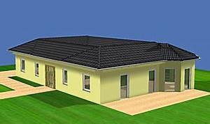 Bungalow Mit Atrium : atrium 112 16 bungalow mit erker einfamilienhaus neubau massivbau stein auf stein ~ Frokenaadalensverden.com Haus und Dekorationen