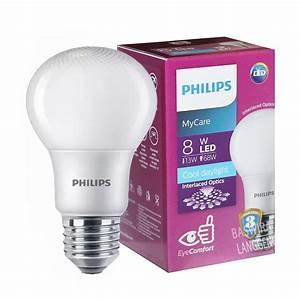 Lampu Led Philips 8 Watt Bohlam 8w    Philips Putih 8 W