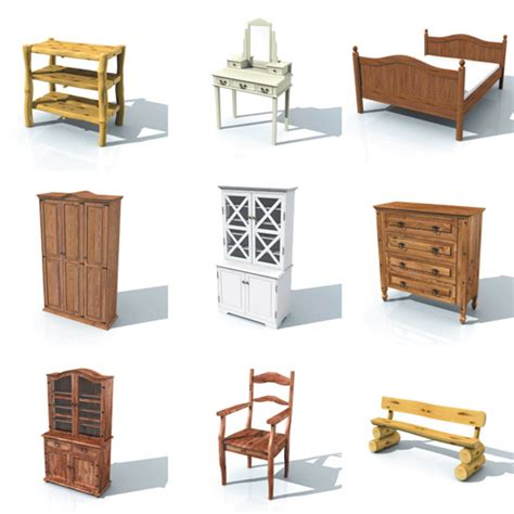 House Furniture by Dosch Design Dosch 3d Country House Furniture
