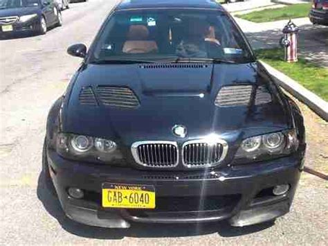 find used 2003 bmw m3 base coupe 2 door 3 2l midnight blue carbon fiber fenders and in