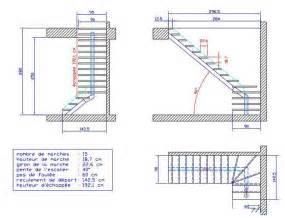 Plan D Escalier En Bois by Fabrication D Un Escalier Page 2 Copain Des Copeaux
