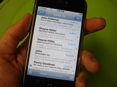 iphone email not working iphone googles reply to why gmail push sync not working