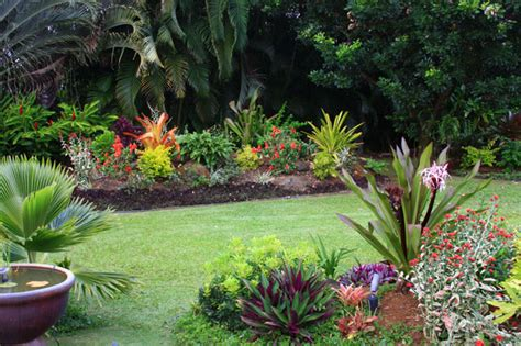 beautiful tropical garden design  minimalist home  home ideas