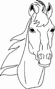 Horse Head Coloring Pages | Animal Coloring pages of ...