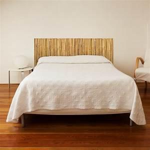 Tete De Lit Zen : stickers muraux sticker t te de lit canisse bambou d co chambre ~ Teatrodelosmanantiales.com Idées de Décoration