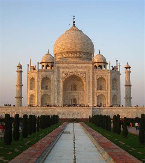 photo le taj mahal en inde l une des 7 merveilles du monde moderne