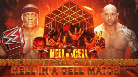wwe hell   cell  match card dream card wwe