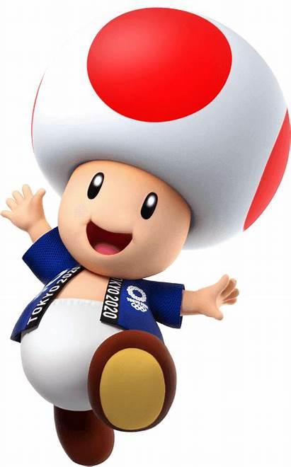 Mario Sonic Tokyo Games Olympic Toad Nintendo