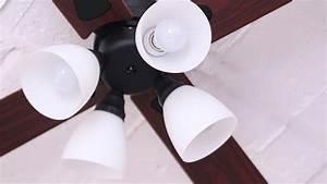 Ceiling fan windouble lights plusmore
