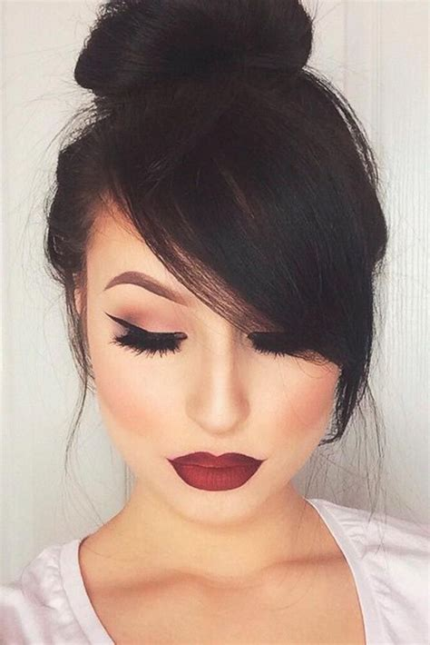 Beautiful Hairstyle With Bangs Ideas For 2018 Fashionre