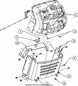 Mtd 13w878st031 Lt 4600  2016  Parts Diagram For Dash