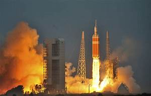 Orion spacecraft launched on Delta IV rocket from NASA ...