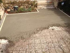 faire dalle beton terrasse newsindoco With faire une terrasse en beton