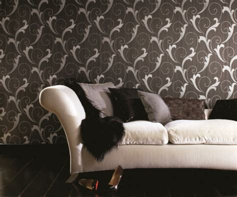 modern textured wallpapers  graham brown