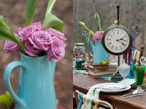 alice and wonderland table decorations alice in wonderland inspiration shoot