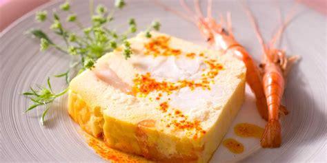 lotte cuisine terrine de lotte aux crevettes facile recette sur