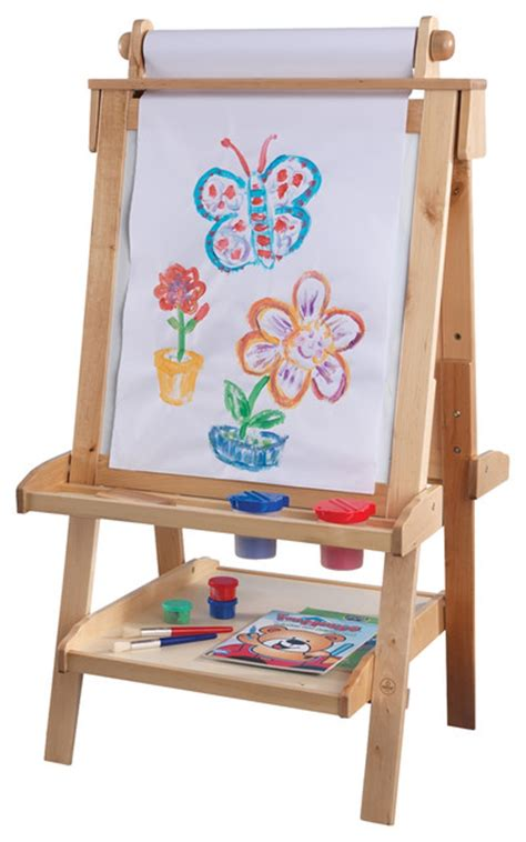 Easel Desk For Toddlers by Kidkraft Home Indoor Painting Deluxe Standing
