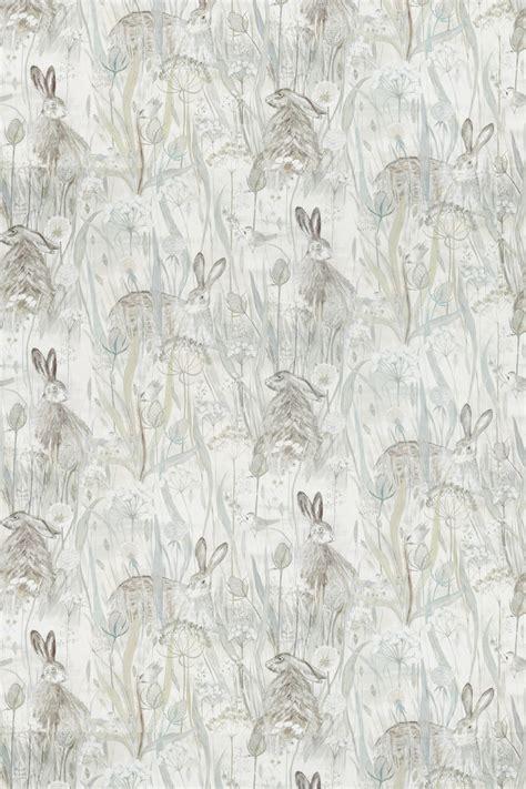 dune hares  sanderson mist  pebble fabric