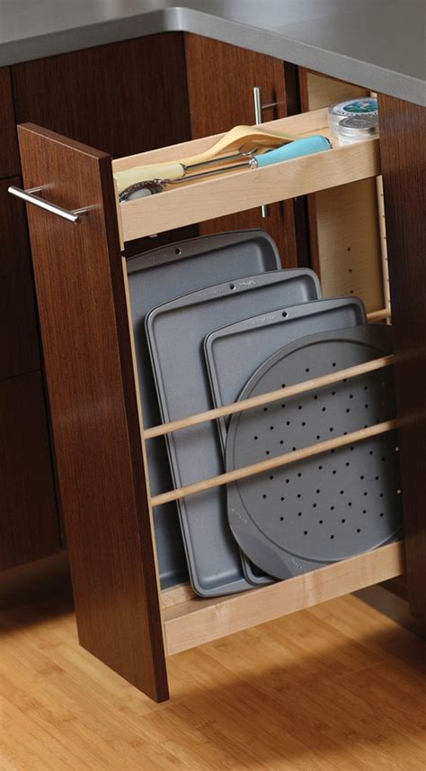 Kitchen Cabinet Pull by Tray Pull Out Cabinet From Dura Supreme Cabinetry Storing