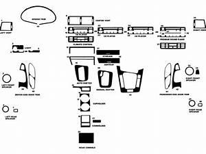 Dash Kit Decal Auto Interior Trim For Bmw 3