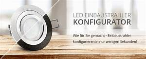 Led Einbaustrahler Außen Mit Bewegungsmelder : led einbaustrahler konfigurator led lichtraum ~ Yasmunasinghe.com Haus und Dekorationen